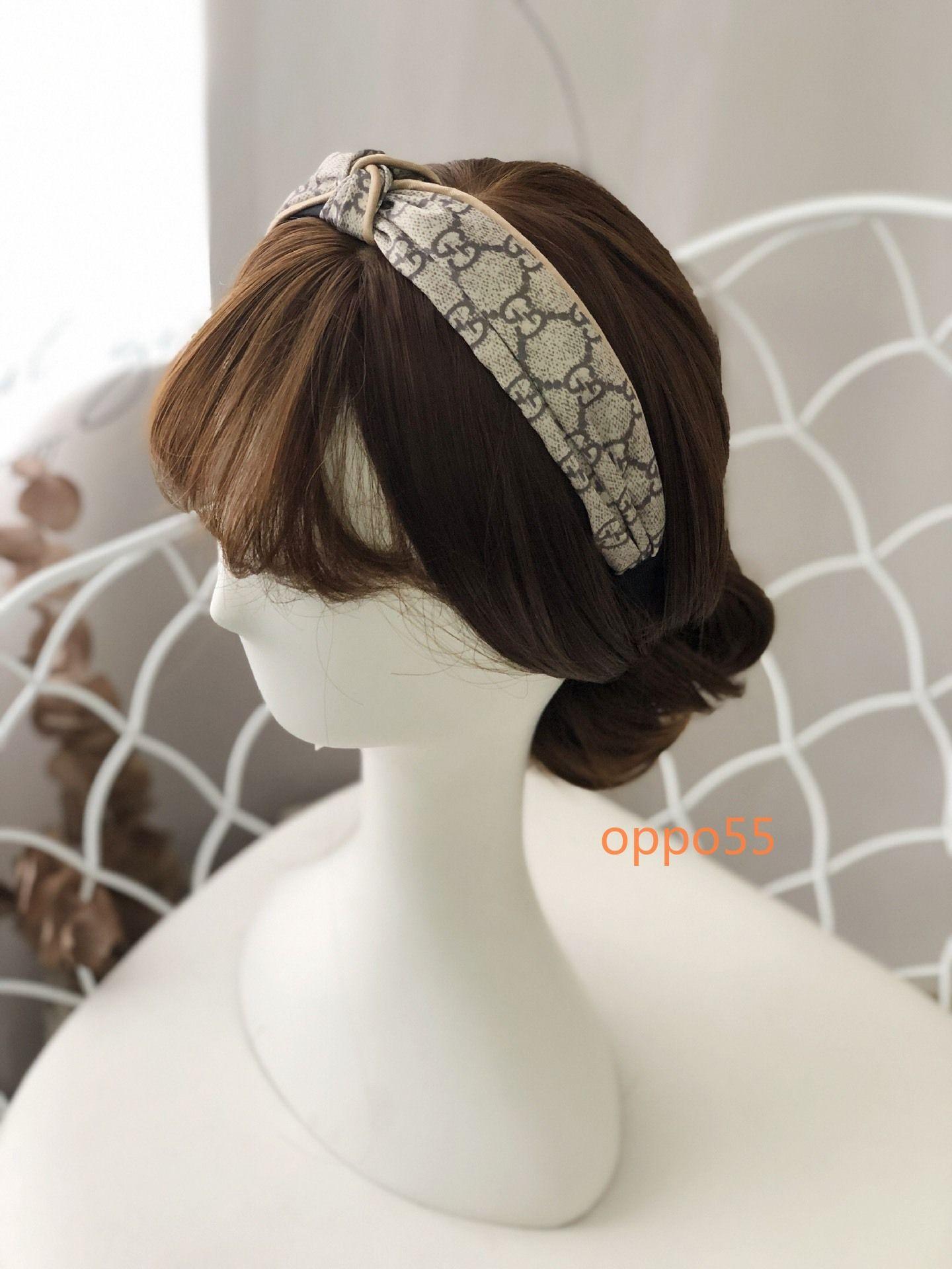2020 die beliebtesten hochwertigen Damen Brief headwear Mode-Accessoires Marke top-Stil Geschenke F005