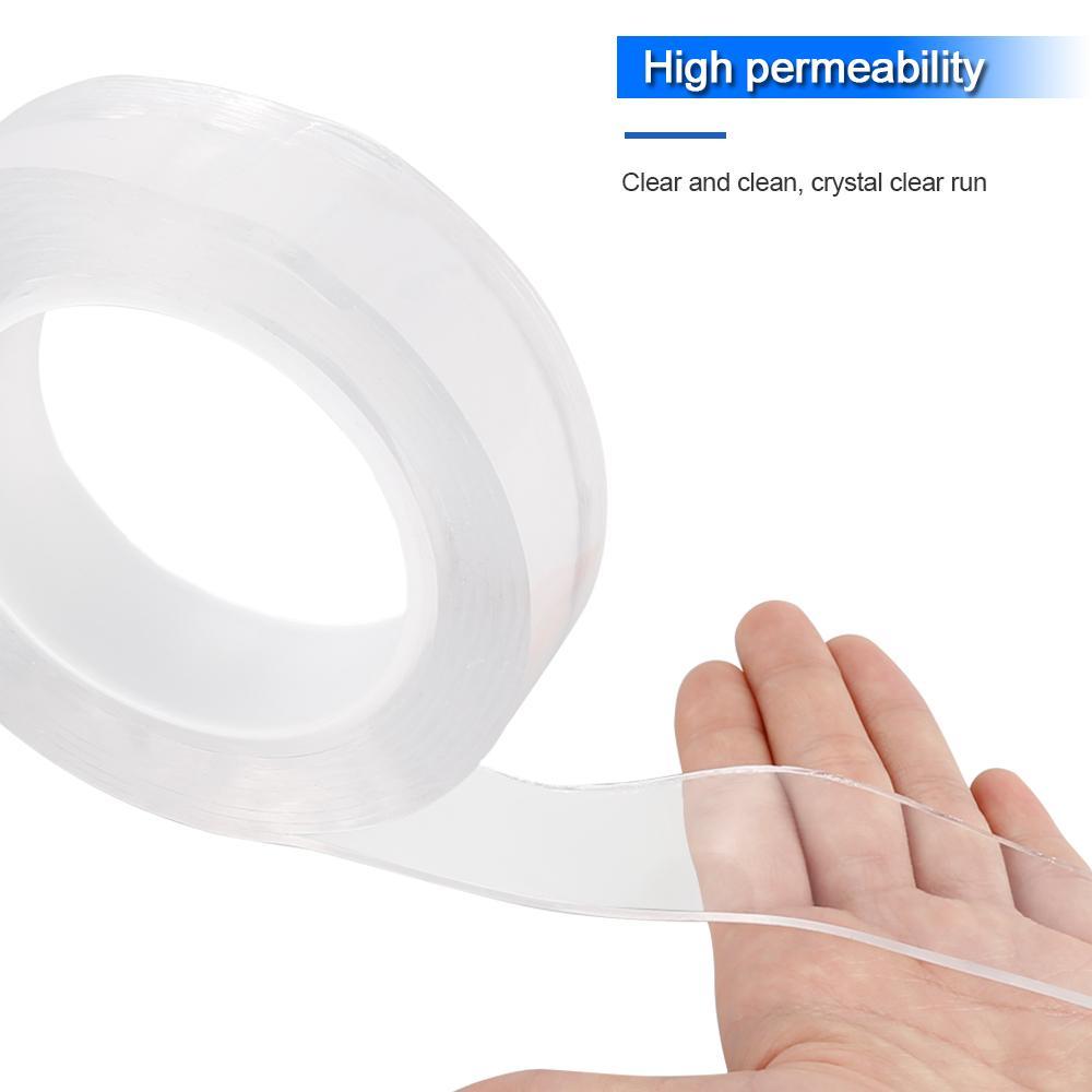 يمكن إعادة استخدامها على الوجهين شفاف لاصق شفاف ضعف الجانب لاصق مقاوم للحرارة لاصق العالمي إصلاح الهاتف المحمول