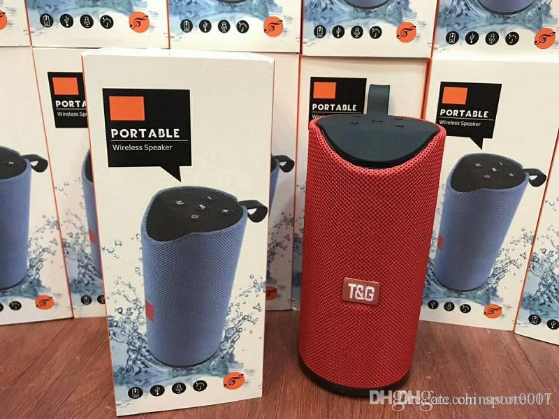 Bluetooth Speakers FM Radio TF USB AUX Play Cheap Portable Wireless Bass HIFI MP3 Outdoor Speaker Big Sound Better Charge3 High Quality
