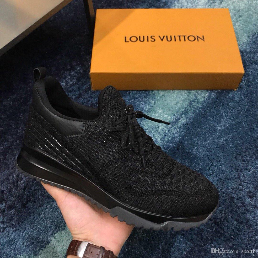 G5 Mode Freizeitschuhe hochwertige Sportschuhe Herren-Turnschuhe bequemes breathable gestricktes Oberteil Originalverpackung Verpackung Zapatos Hombre