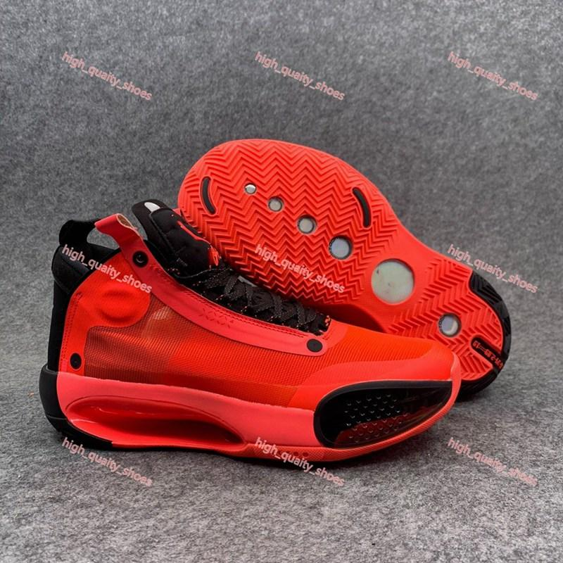 Xshfbcl Best Jumpman XXXIV 34 Infrared 23 Basketball Shoes 34s Zoom Bred White Red Black Eclipse Black White Mens Sports Sneakers