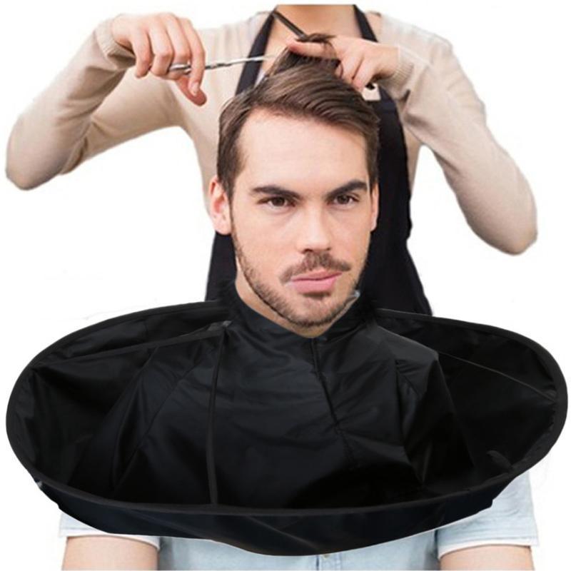 DIY стрижки волос плаща зонтика Мыса парикмахерская и салон Главная Стилисты Использование Для Barber Специальный аксессуар для волос