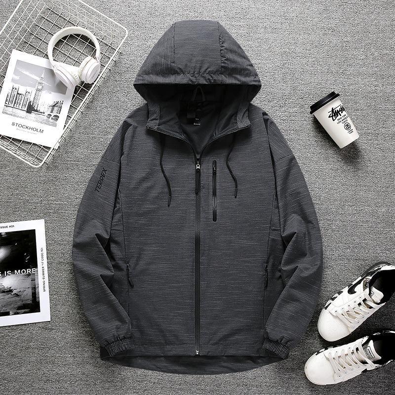 2020 Mens Designer Sweatshirt Mode Jacke mit Buchstaben Dünner Qualitäts-lässige Sportswear Mäntel Kleidung 2 Farbe Größe S-2XL