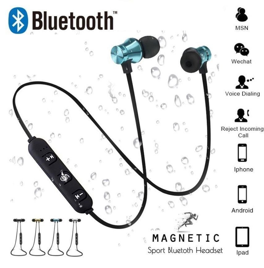 무선 헤드폰 블루투스 이어폰 이어 후크 헤드셋 아이폰을위한 삼성 Xiaomi 블루투스 Auriculares earbuds (Retail)