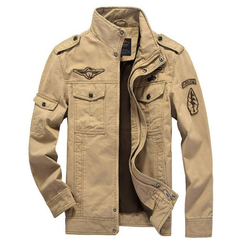 XingDeng Bomber Jacken Armee Mode Männer Jacke Mantel Herren Denim Kleidung für Männer Top Coat Plus Größe 6XL