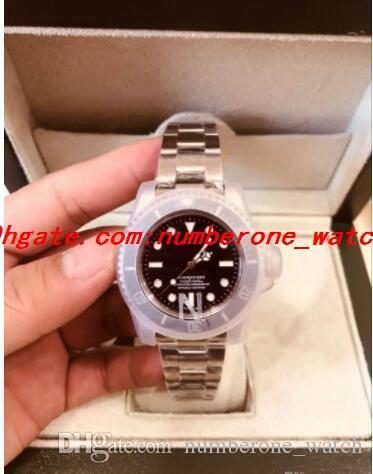 Роскошные часы Лучший продавец n00b Factory v5 40mm 116610ln 116610 Высокое качество Черная керамика 2813 Механизм Автоматический Glidelock Мужская Водонепроницаемый
