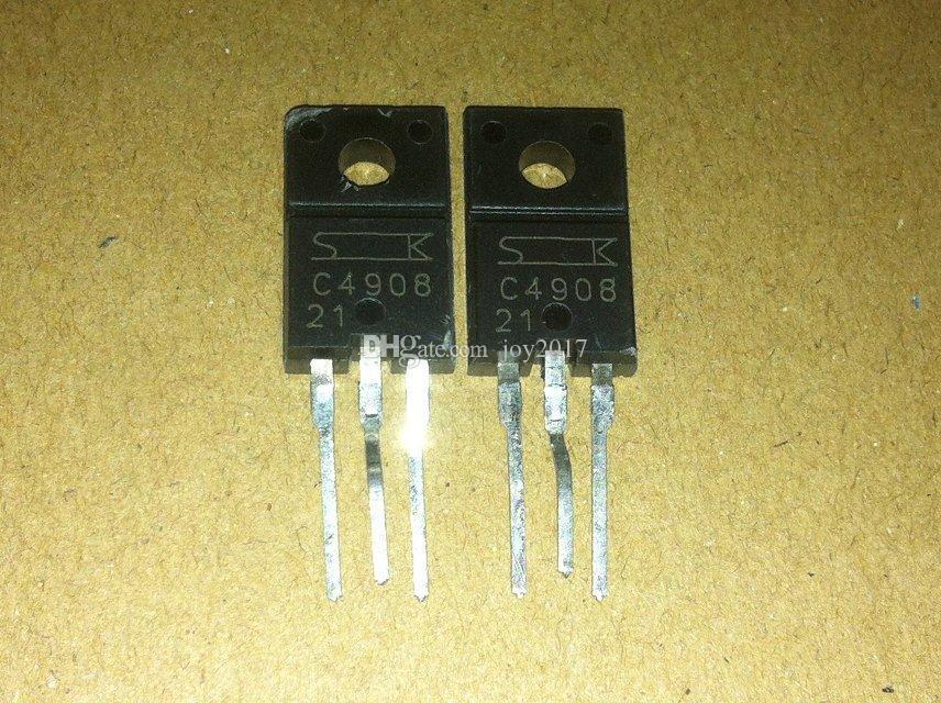 Freies verschiffen C4908 2SC4908 TO220 original und neue 10 TEILE / LOS