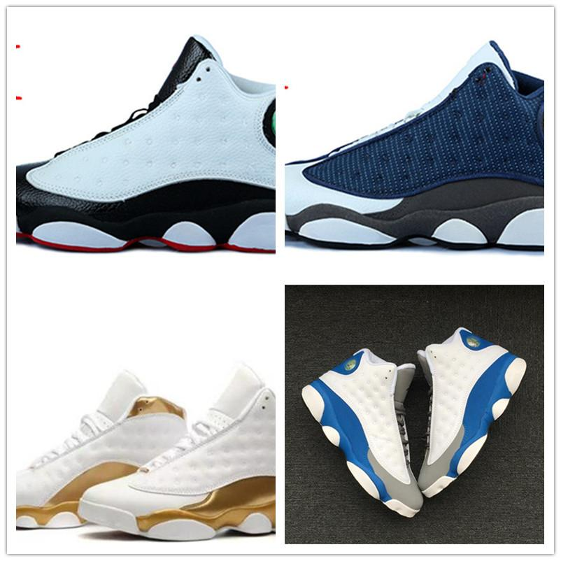 13 13s High Basketball Shoes Mens Atmosphere Grey Barons Hologram Love Respect Black Stylist Shoes XIII Sport Sneakers