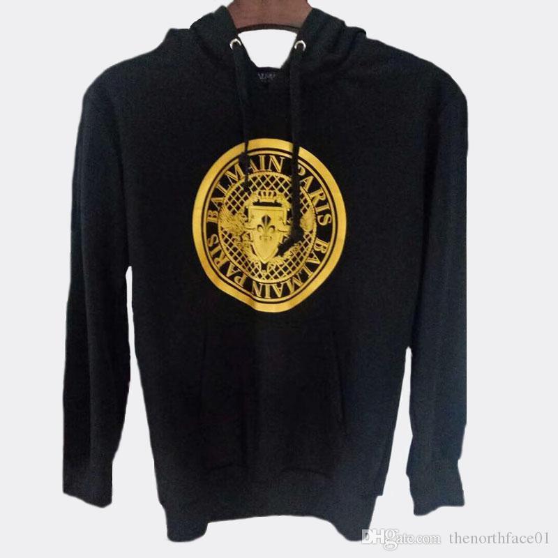 Balmain New Arrival Hoodies Mens Stylist Hoodies Street High Quality Loose Fit Hoodie Mens Womens Stylist Sweatshirt