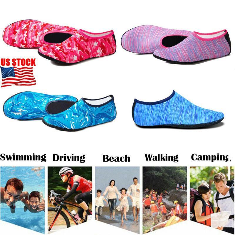 2020 Пляж Бассейн Водные виды спорта Носки Антипробуксовочная Обувь Йога Фитнес Танцы Плавание Серфинг Дайвинг Подводная обувь для мужчин женщин детей
