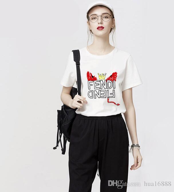 Новая летняя мода мужчины и женщины футболки студенты роскошный дизайн с коротким рукавом тройник мальчики девочки повседневная футболка топы #365