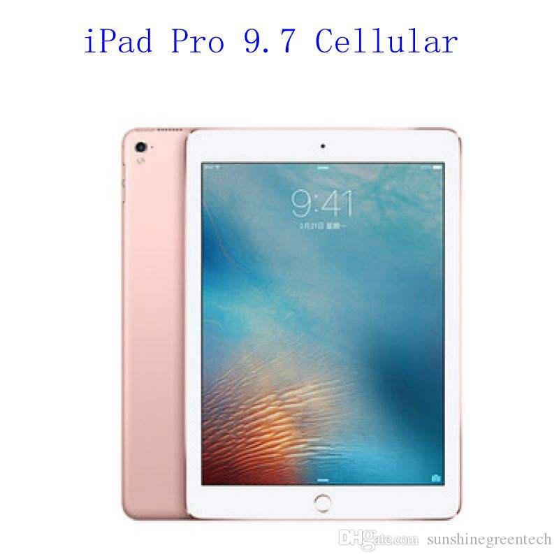 "Original Refurbished Apple iPad Pro 9.7 wifi+Celluar Touch ID 9.7"" Retina Display IOS A9X refurbished Tablet support Apple pencil"