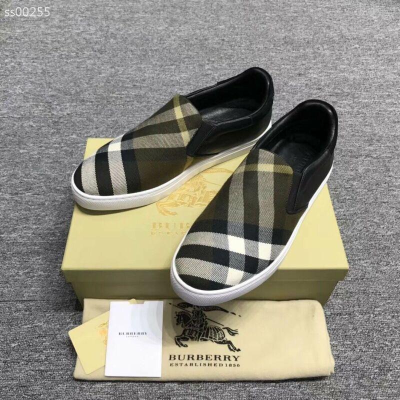 Fashion Luxury Designer Herren Schuhe Retro Plaid Schuhe Loafers Flache Männer Luxuxentwerfer Mens-beiläufige Turnschuh-Ebene-Größe US-6-10 Für Box