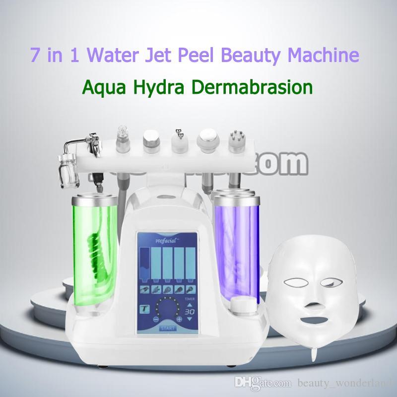 Peeling al cristallo di diamante microdermoabrasione trattamento del viso dermoabrasione idro-facciale Trattamento dell'acne Cerchi scuri Rimozione del pigmento Pelle stringere