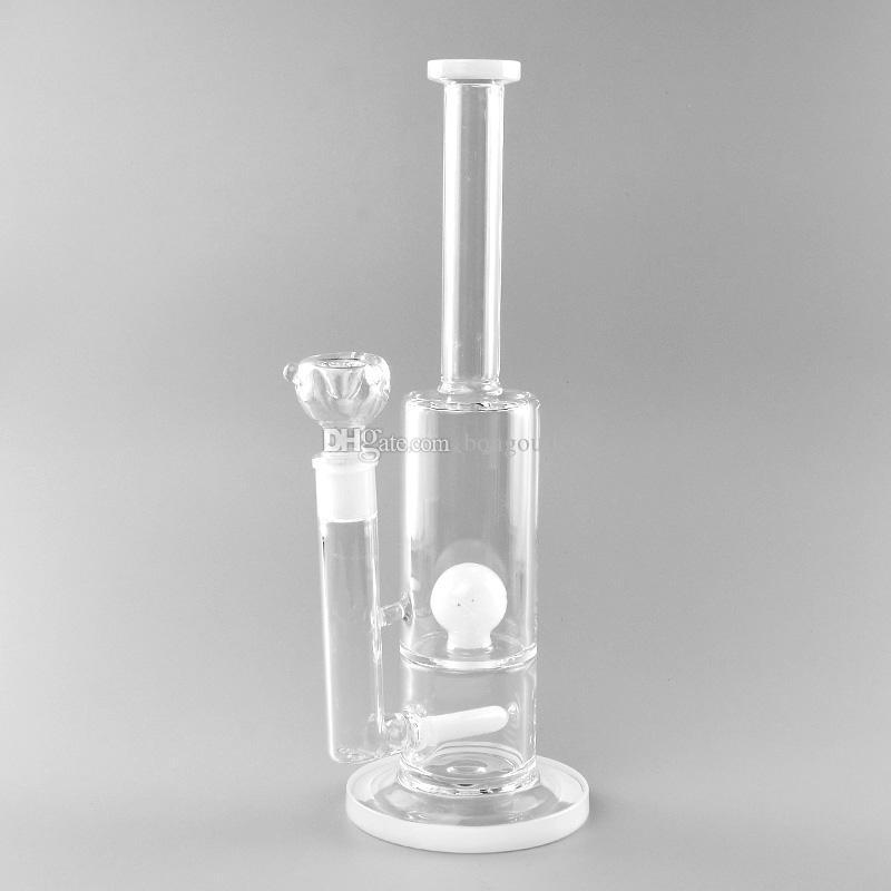 13.2 pollici alto narghilè tubo di acqua Bong Pips in vetro spesso con ciotola da 18 mm