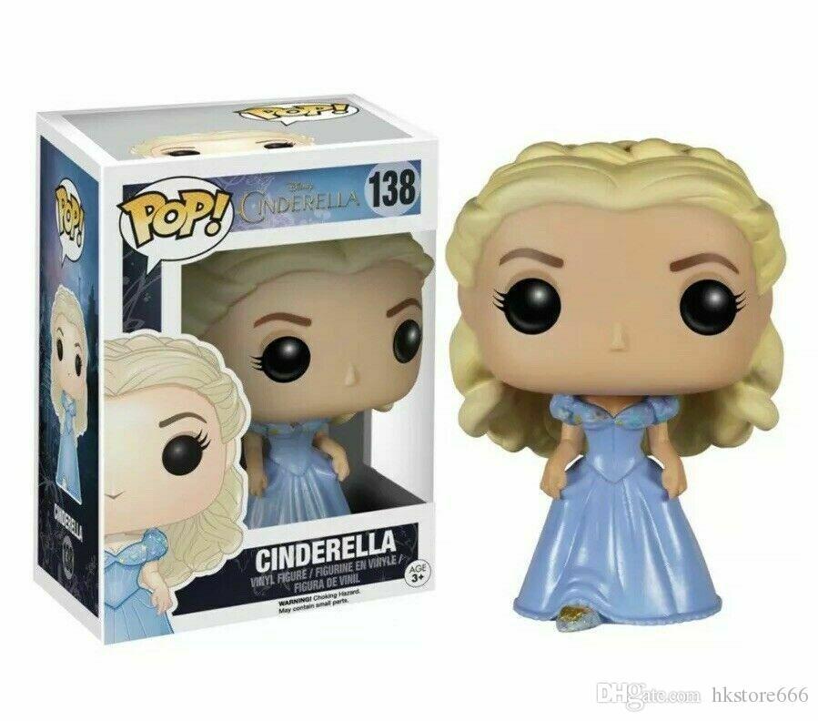 Bravo 2019 Brand New Trend Funko Pop Action-Figuren Film Cinderella Aschenputtel Prinzessin 138 Puppe Puppe Hand Spielzeug