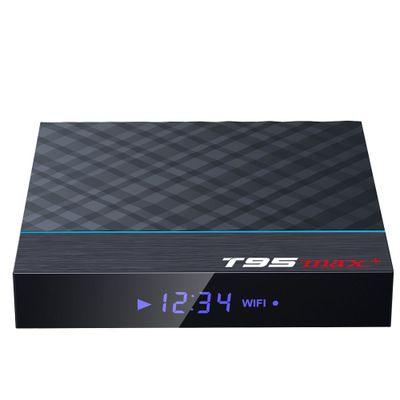 T95MAX + شبكة لاعب ذكي فك التشفير TV BOX S905X3 32G واي فاي BT الروبوت 9.0 TV صندوق 4GB / 32GB 4GB / 64GB 2GB / 16GB