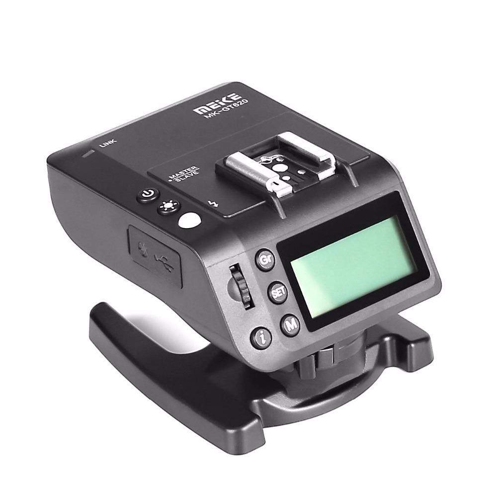 MK-GT620 2.4 جيجا هرتز اللاسلكي الساخن الحذاء فلاش الزناد كيت استقبال الارسال لكاميرات نيكون SLR الرقمية