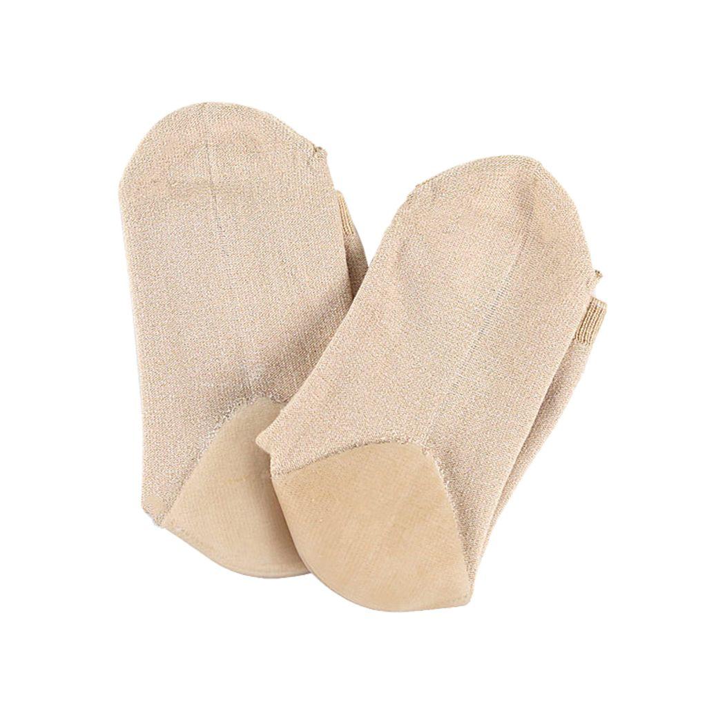 1 Calze tacco Coppia Donne gel idratante piede per Cracked Cura dei piedi