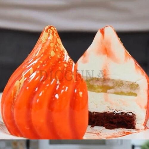 Cebolla modelo del molde del silicón Mollete del chocolate caramelo hornada de la galleta del molde de la cacerola Herramientas
