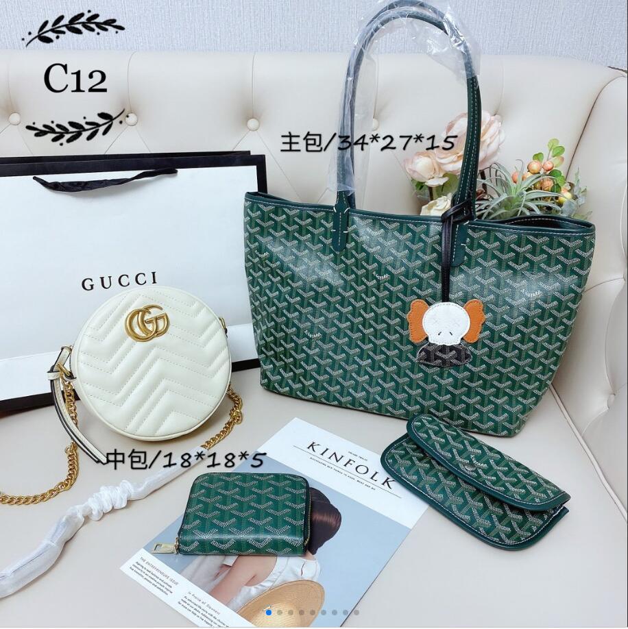 Классическая мода ретро зеленый crossbody сумка из трех частей женская мода личность сумка мобильный телефон сумка дамы дикие сумки на ремне