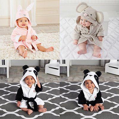 Дети халаты Девочка Мальчики Velvet Халаты Пижама Дети купание Одеяние одежда детской ванночки