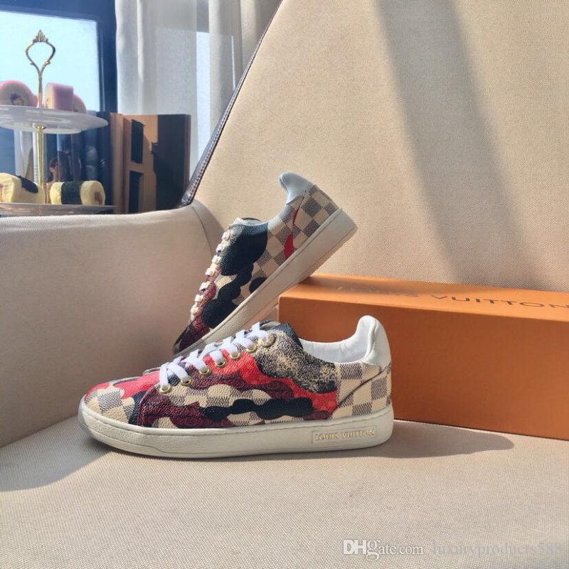 Kadın Ayakkabı ÖN Sneakers Rahat Moda LuxuryDesigner Kadın Ayakkabı 2019 Marka Moda Lüks Tasarımcı Lüks Tasarımcı Bayan Shoes6