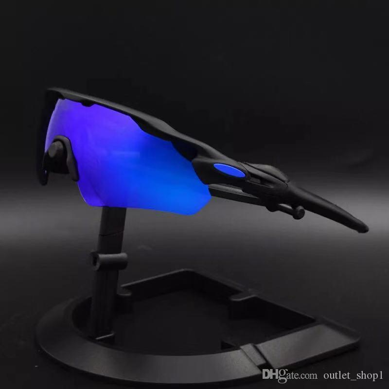 Radar EV Pitch polarisierte Sonnenbrille im Freien Sonnegläser Frauen Männer Sport-Sonnenbrille Reiten Radfahren Brillen-Gläser Fahrradgläser Radfahren