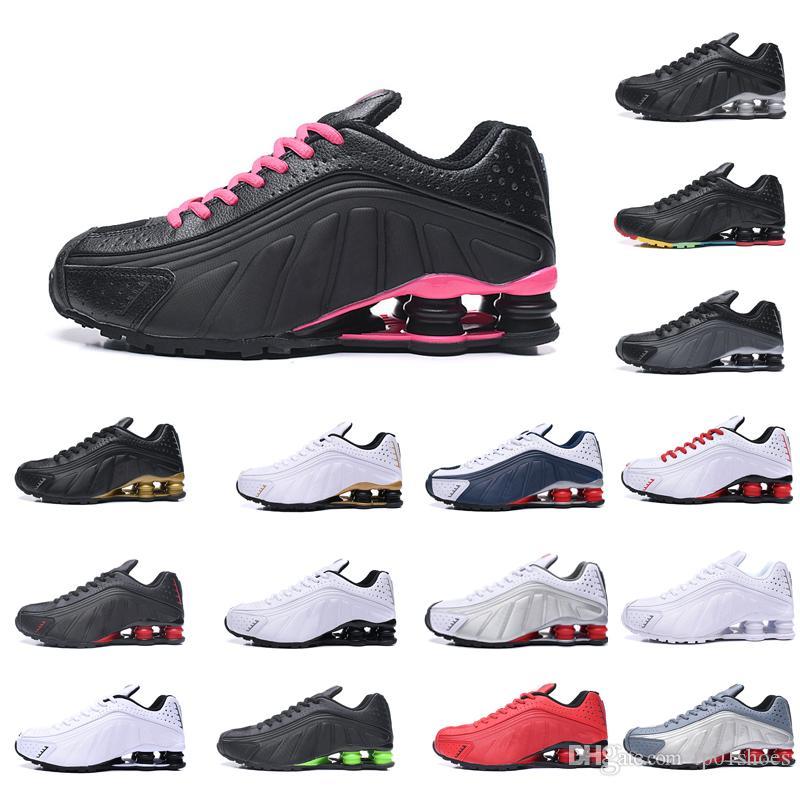 Elásticos Mens Original sapatos baratos Chaussures Sneakers Triplo Preto Branco Vermelho Azul Aumento Almofada Zapatillas Shoes Tamanho 5,5-12