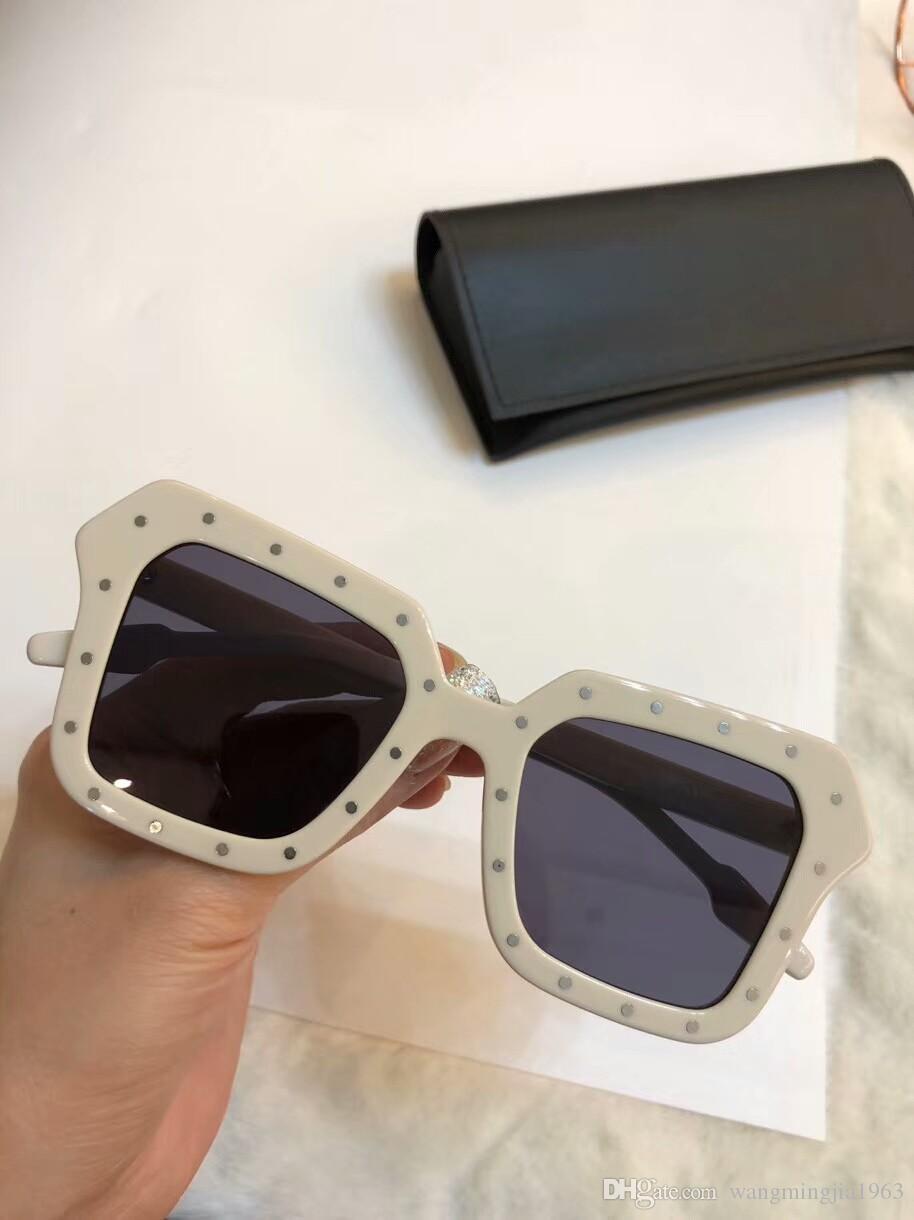 Novas qualidade superior SL251 mens óculos homens vidros de sol mulheres óculos de sol estilo de moda protege os olhos Óculos de sol lunettes de soleil com caixa