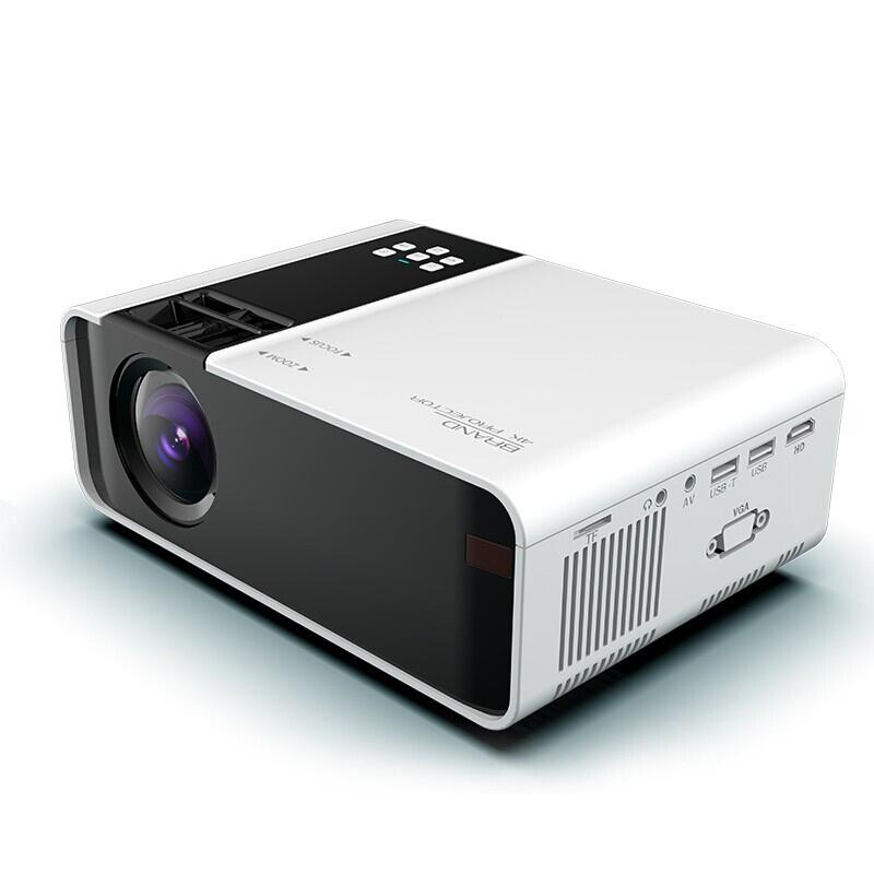 Freeshipping TD90 HD Mini Projector 3500 Lumens 720P Support 1080P LED Android WiFi Projector Video Home Cinema HDMI VGA AV Movie Game