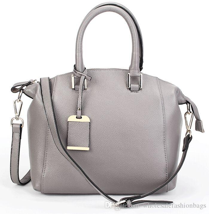 hotsale yüksek kaliteli hakiki deri gerçek dana kadınlar lüks avrupa çanta omuz çantası taşımak çanta Y12