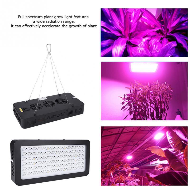 900W LED Grow Light Full Spectrum Lamp for Indoor Greenhouse Grow Tent Plants Grow LED Light US / EU / UK Plug(Optional)