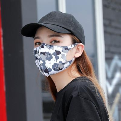 Em armazém !! Anti Poeira Rosto cobrir a boca PM2.5 Máscara Moda moda Máscaras versão completa do colorido protetor solar Máscaras EEA1491