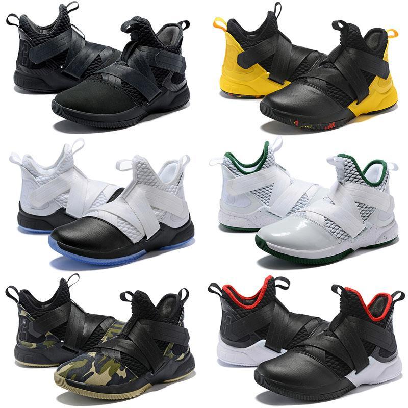Designer-Schuhe Soldaten 11 Gleichheits-Schwarz-Weiß-Basketball-Schuhe für Männer Soldaten 11s EP Sporttraining Turnschuhe Größe uns 7-12