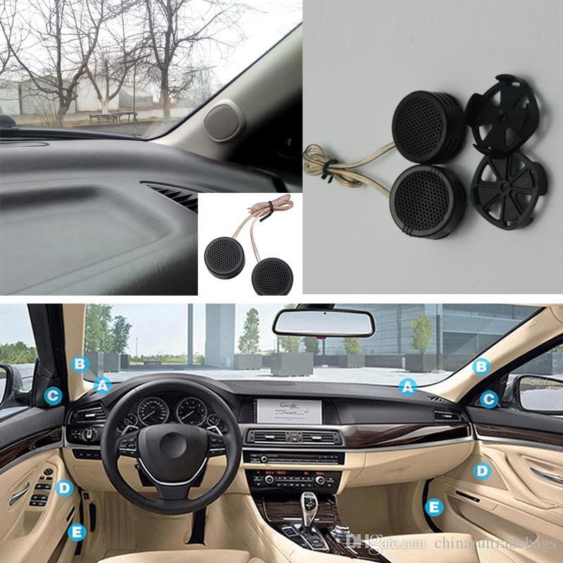 2pcs 500W haut-parleur haute efficacité voiture mini dôme tweeter haut-parleur super puissance audio son automatique pour voiture
