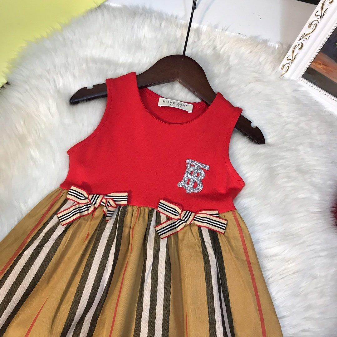 2020 new summer children's high-quality dress 12YRX6