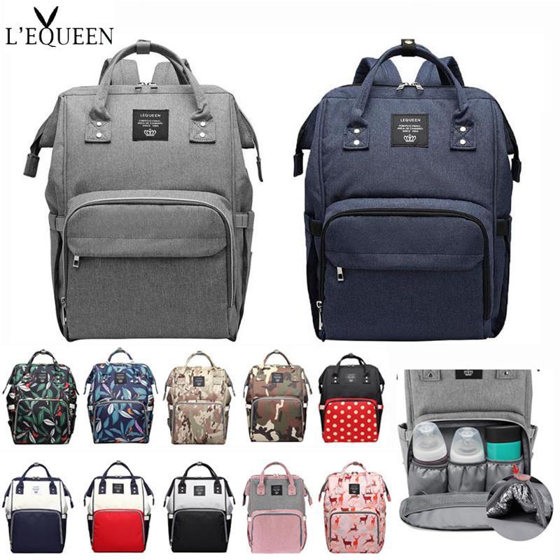 Mumya Annelik Nappy çanta Protable bebek Bezi Çantası Büyük Kapasiteli bebek hemşirelik Arabası Çanta bebek nappy çanta Bebek Bakımı