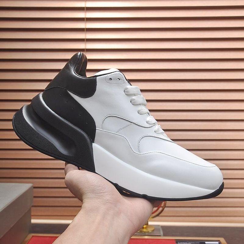 Nuovo arrivo oversize scarpe Runner Mens superiore autunno e l'inverno Vintage morbide Footwears Lace-up Scarpe Uomo Calzado deportivo para hombre