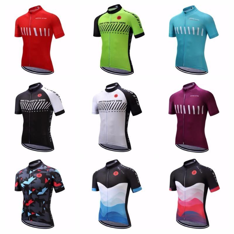 Weimostar Cycling jersey 2020 Men Mountain Bike top MTB Bicycle Road shirt downhill Ropa Summer short sleeve