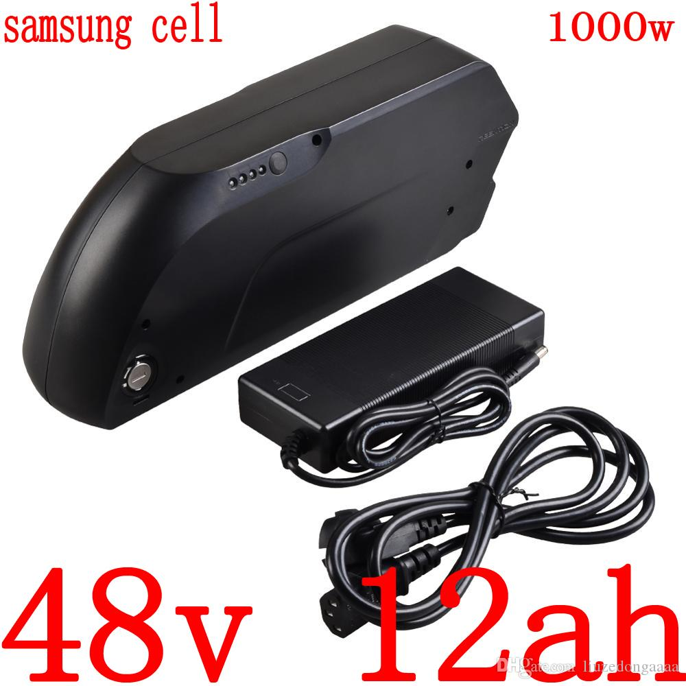 36v 48v electric bike battery 36v 48v 12ah 15ah 18ah lithium battery use samsung cell for 250w 500w 750w 1000w motor ebike