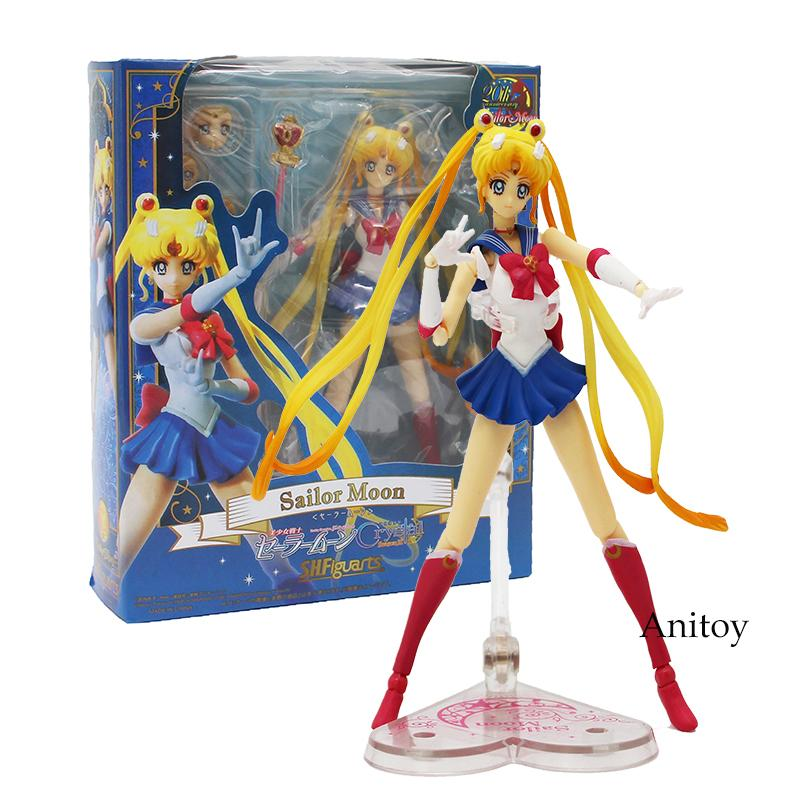 Sailor Moon Crystal Season III Action Figure 1/8 scale painted figure 20th Anniversary Variable PVC Figure Toy 15cm