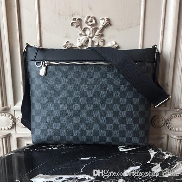 Nouveau sac messager des hommes de luxe design MMMICK N40003 moyenne bandoulière réglable sac à main confortable taille pratique 29.5x6.5x25.5cm