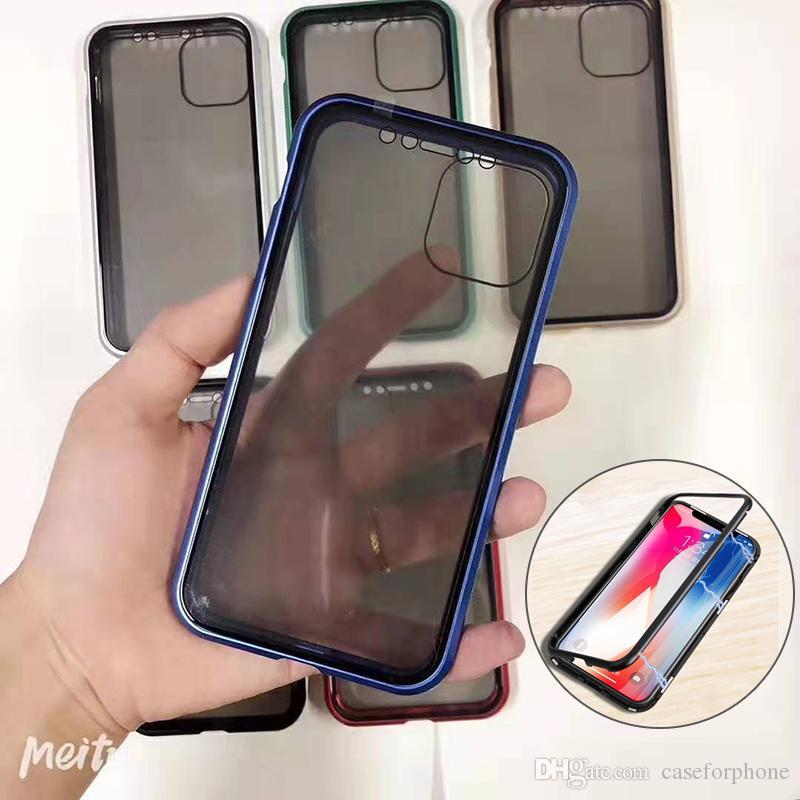 iPhone 11 11pro 11proMax 7plus 8plus 7 8 x xs XR xsMax 6 6plus ve Diğer Markaları için Manyetik Adsorpsiyonunda ile Telefon Kılıfı