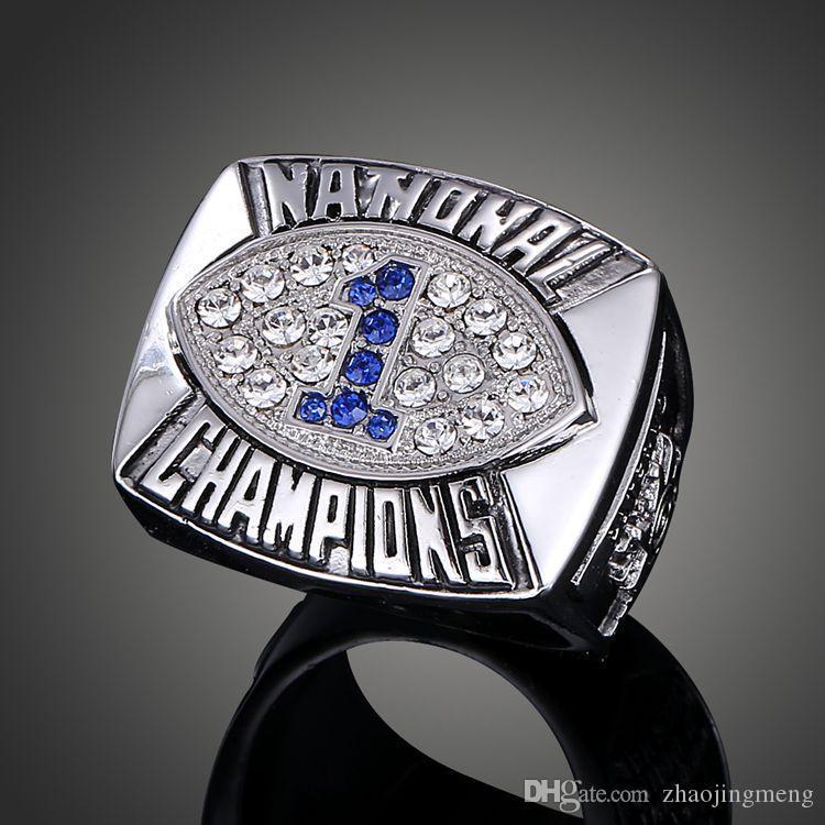 Campeonato Jóias Nittany Lions bacia anel de campeão celebração Fãs coleção anel de fãs