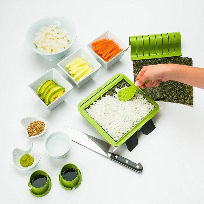 Sushiquik 1 Set Super Facile Sushi Making Kit Kit DIY Machine Outils De Coupe De Rouleau De Riz