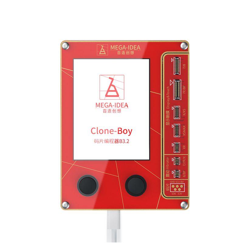 Qianli LCD Mega-Idée vrai écran Tone réparation Programmer Vibration / 7 pour 8 Photosensitive plus X XS Max XR comme Qianli iCopy