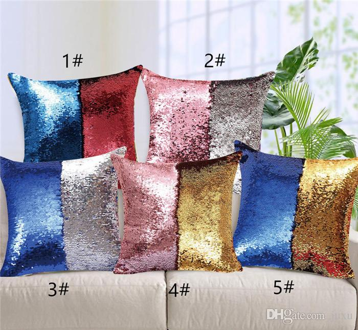 art mermaid cushion cover decorative pillow case US SELLER