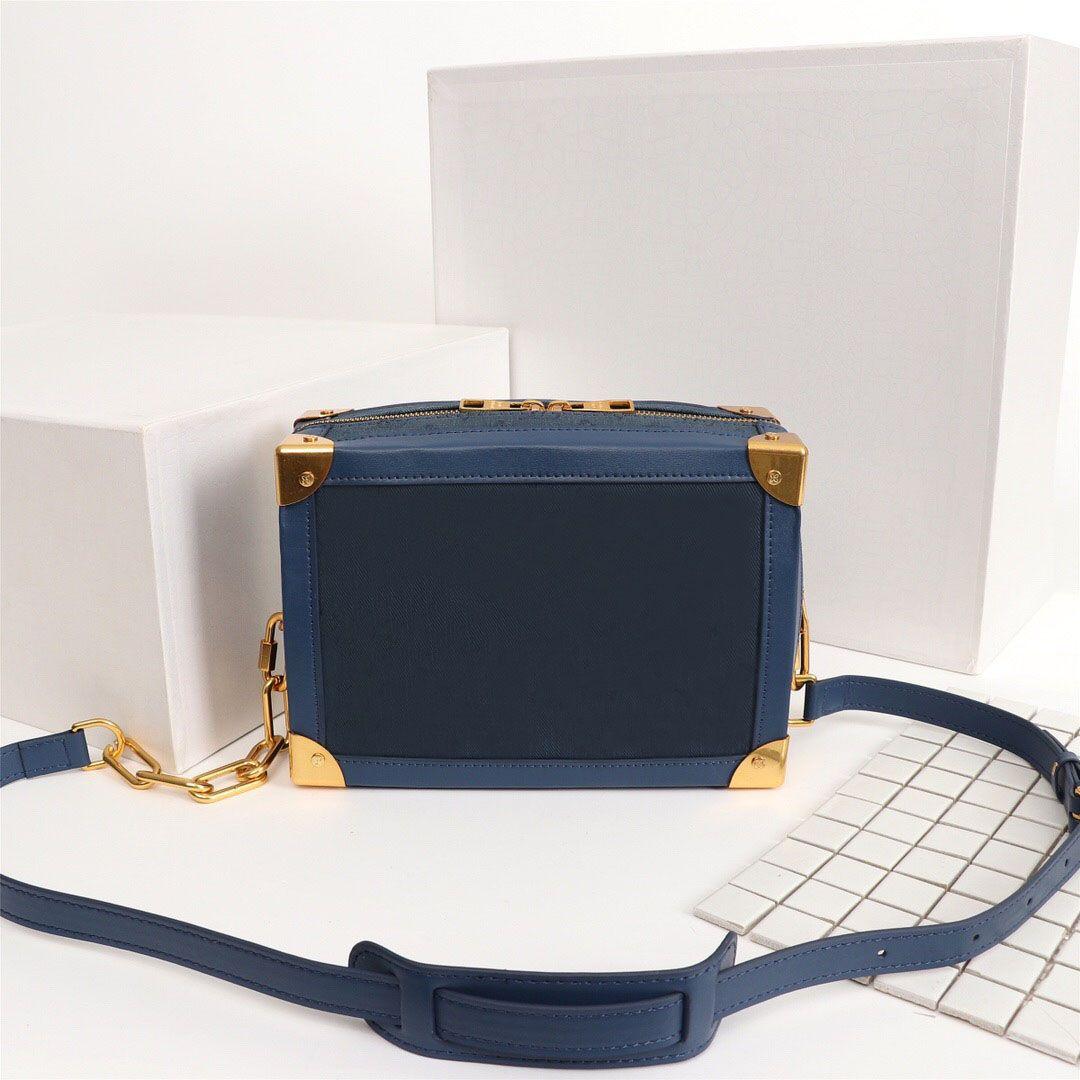 Sacos de marca Real Designer bolsas de couro s-lock saco de luxo saco de messenger mulheres de tote disco rígido qualidade macia tronco de ombro aibm