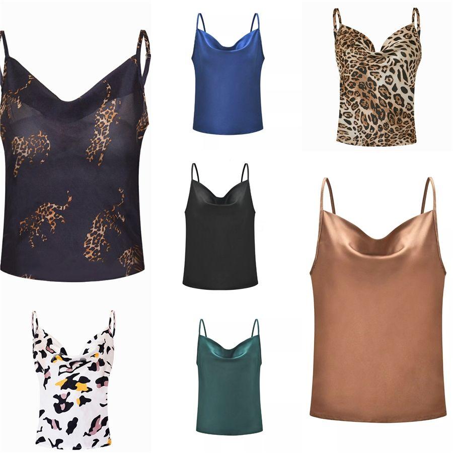 Sexy Mulheres Pescoço V lantejoulas tanque camis tops sem mangas sem encosto Spaghetti camisas sólidos do sexo feminino casual tops chiques # 521 # 226